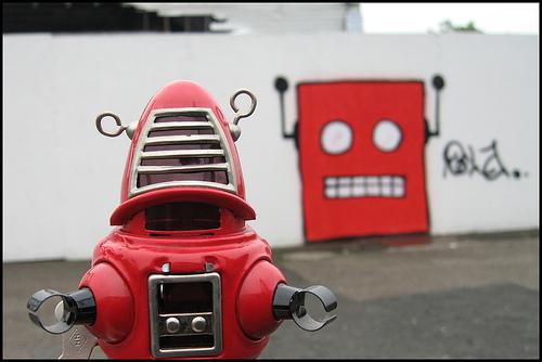Robot from 'Forbidden Planet'
