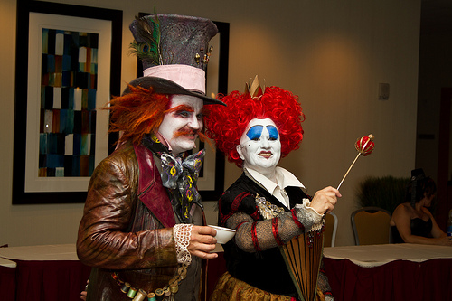 Red Queen and Mad Hatter