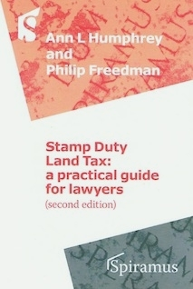 Stamp Duty Land Tax: a practical guide for lawyers (2nd edition)