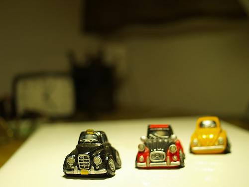 Miniature model cars