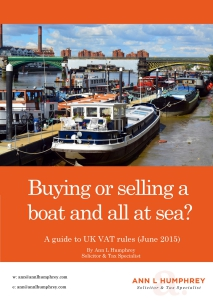 VAT and Boats eBook